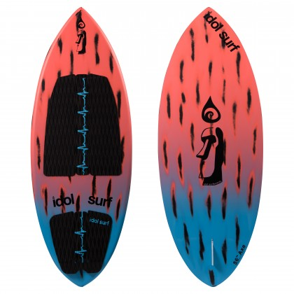 image of axe skim wake surfboard
