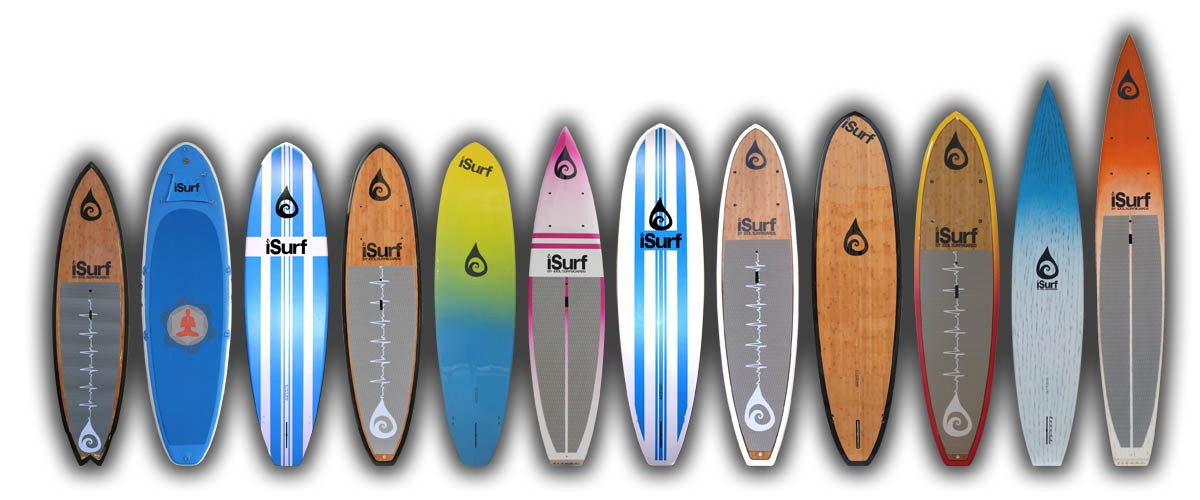 iSurf SUP paddle board