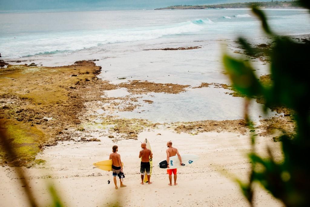 Cruising Bali with good mates.  Photo: Terje Talpsepp