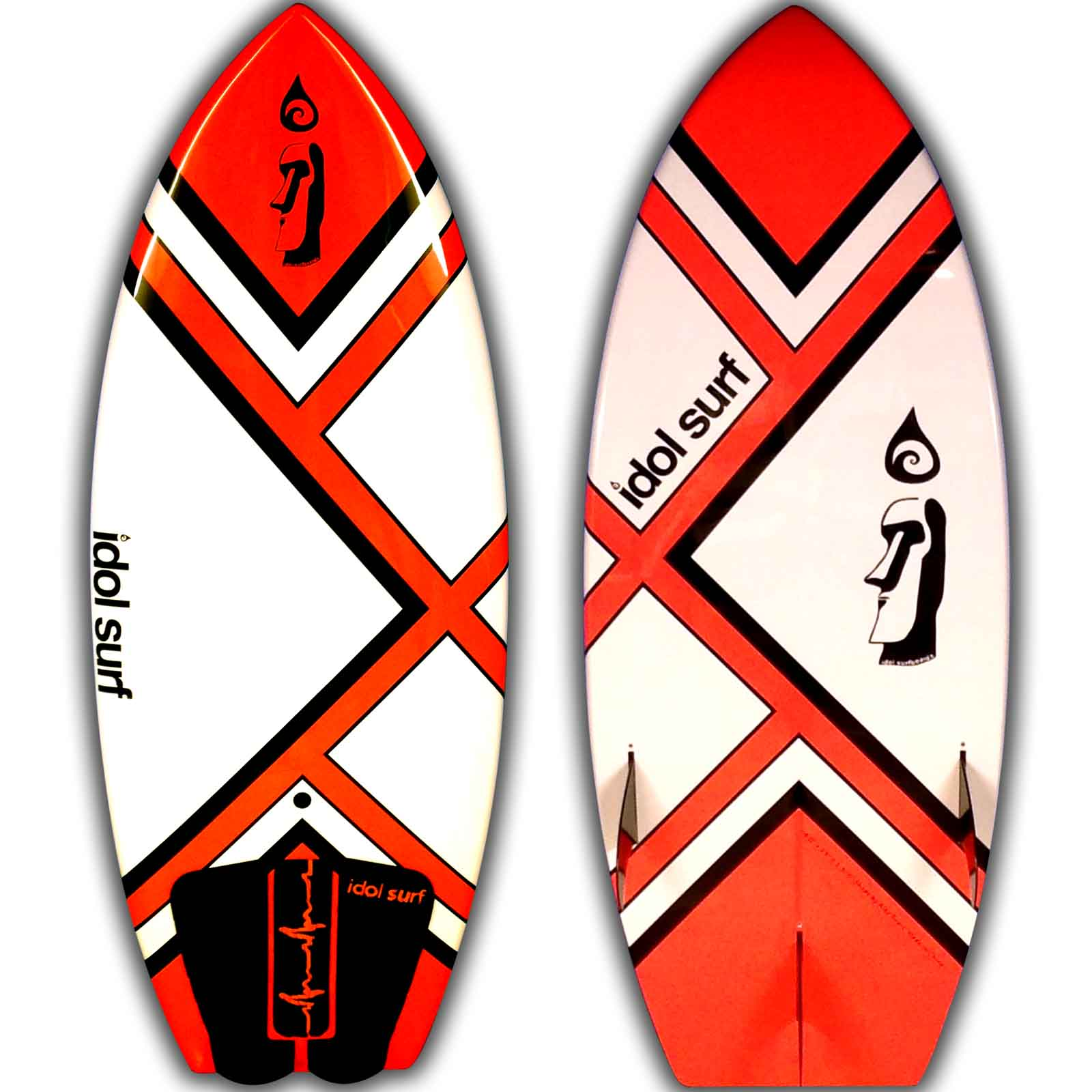 smaller high pefromance wake surfboard